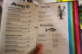 Mexiqui Menu 2